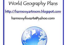 World geography / by Michelle (Zachrich) Wiehl