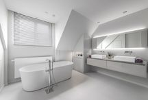 Lefèvre Interiors bathroom & powder room design - contemporary / Custom made design