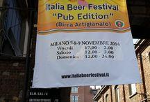 Italia Beer Festival – Pub Edition 2014 a Milano / Foto di sabato 8–11-2014 alla Festa della Birra a Milano.
