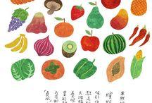 zelenina, ovocie