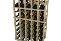 Vintner Series / Our full depth wine racking products are stackable to create different heights in your wine room. Mix and match products.