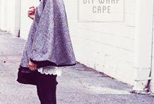 Cape? Cloak?Poncho? (Not Crocheted)