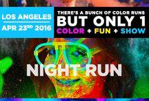 Fun & Color runs / Fun ways to stay active