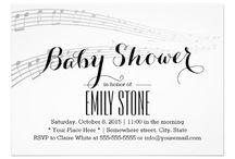 Music Themed Baby Shower