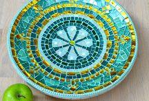 Mosaicos bandejas