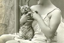 Cats / Meoooow! Vintage and modern kitties in all their glory!
