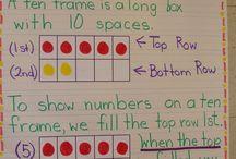 10 frame lessons