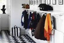 Walk - in Closet | Garderobe rom - wardrobe room / oppbevaring av klær