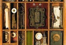 Curiosities / Steampunk shadow boxes - configuration boxes - very interesting to me and inspiration to one day create my own.