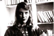 Sylvia Plath / Poet,novelist, and short story writer