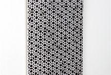 Carreaux de ciment / Mes coups de coeur pour la tendance carreaux de ciment ! Vrais carreaux, tapis en vinyl, adhésif…  / by Sapristipopette - By Geekygirl