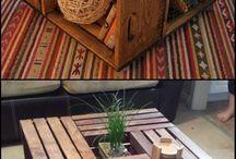 pallet / pallet / crate ideas