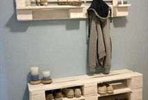 Shoe Rack - Wooden Pallets