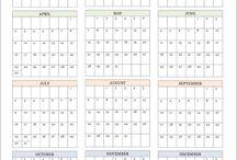 Calendari stampabili
