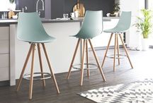 Danetti | Finn Barstools / Our best selling Finn Dining Chair is now available in coordinated Barstools! Hard wearing plastic seats make the Finn range practical, durable and affordable. Plus, with 8 colours to choose from, you're sure to find one to suit your personal interior style.