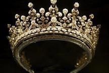 Tiaras,Crowns,Parures & Diadems / by Miriam Perez
