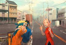 Naruto Sasuke & Sakura ♥