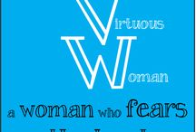 VW / All things Virtuous! Motivation and Inspiration for those Aspiring to be Virtuous Women in our Every Day Faith. / by Susan Greenwood