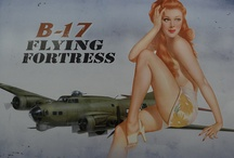Iconic Noseart / Nose art used in WWII and later / by John @P