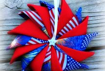 Quilted Star Ornaments