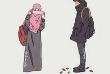 pasangan hijab