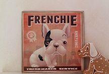 Fa táblakép - kutya fajták / Wood signs - dog breeds / Fa táblaképek a Kacatos Műhelyből retró, vintage és shabby chic stílusban. Kézzel megmunkált fából, igényesen kivitelezett, minőségi dekoráció és ajándék.