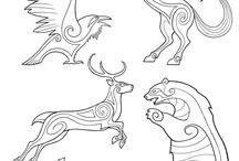 Djur mönster