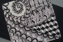 doodles/zentangles/paisleys/swirls/vines