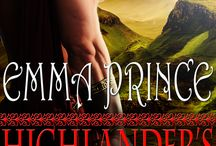 Emma Prince book covers / The ever-growing collection of my book covers!