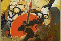Manga Fumetti / disegni e immagini che fanno riferimento a manga o fumetti di ogni genere