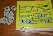 math for kindergarten / by Becky Saunders