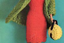 Knitting for Barbie