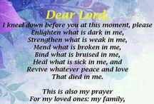 ~Praying/Prayers and Praises / by Amalia Rodriguez