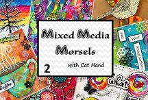 Mixed Media Morsels -  Cat Hand