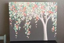 Τrees painting