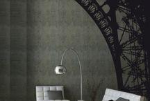 Sur les murs / by Florence Courtin Architecte