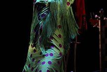 Női flamenco ruha