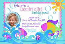 Summer Party Invitations & Ideas / Summer Party Invitations & planning ideas for your sunny birthdays, showers or other 2014 celebrations! We can add summer graphics, colors or wording to any of our designs to suit your own event theme. / by LilDuckDuck