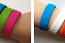 bracelete silicone