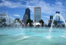 Jacksonville,fl.my home town / by Betty Wilson