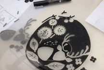 Screen printing Workshop August 2014