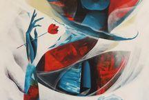 Artwork / Paintings, watercolor