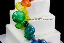 Gelatin Bubble Cakes