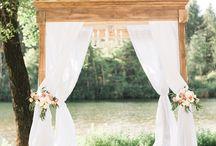 Wedding Ceremony Flowers & Decor
