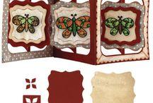 accordion fancy label card elizabeth craft designs
