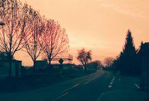 Landschaft / Das schönste wenn man früh aufsteht