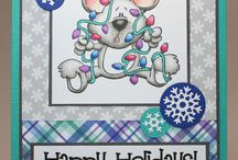 One Crazy Stamper Card Kits / Card kits contain all of the pre-cut supplies to make four identical cards featuring High Hopes stamps & sentiments.