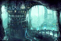 Underwater Castles