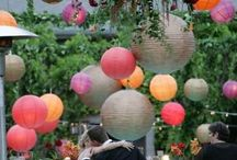 Tent/Outdoor Reception Decor