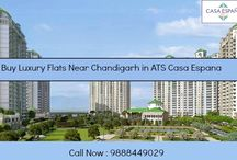 Luxury Flats Near Chandigarh / ATS #CasaEspana features luxurious apartments for sale in #Mohali, #Chandigarh.Call Now : 9888449029